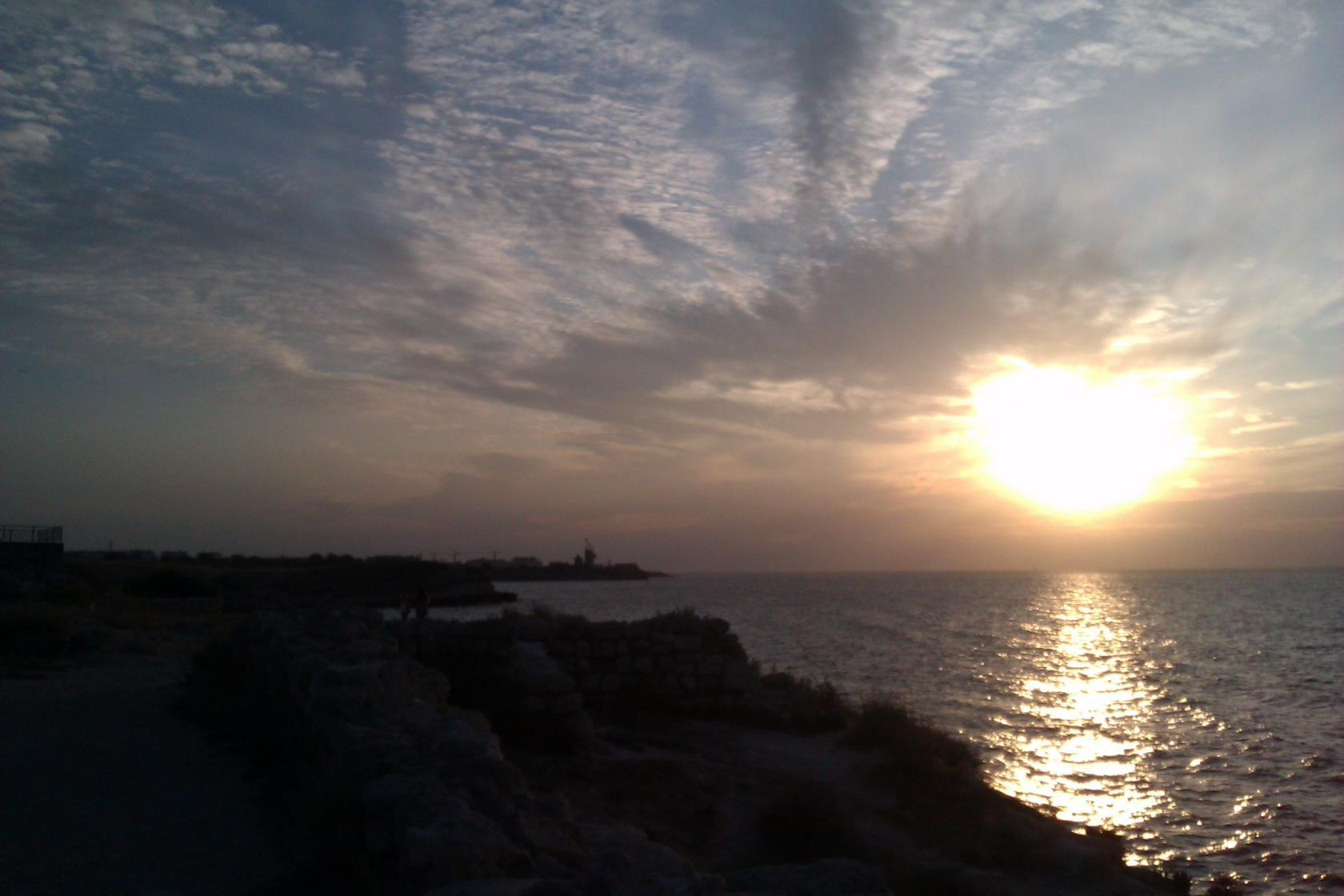 закат солнца на Херсонесе 2016г