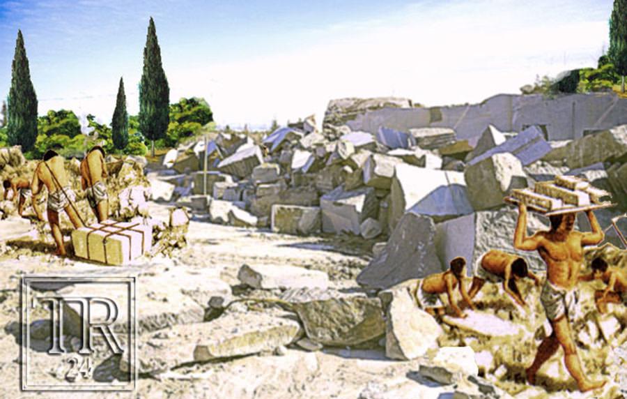 Древние каменоломни Херсонеса
